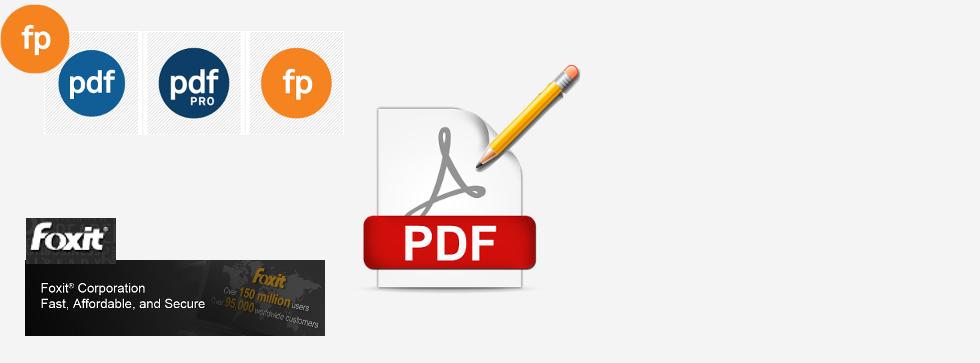 Foxit et Fineprint, vos solutions PDF inégalables