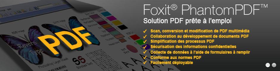 Foxit votre solution pdf ultra compétitive